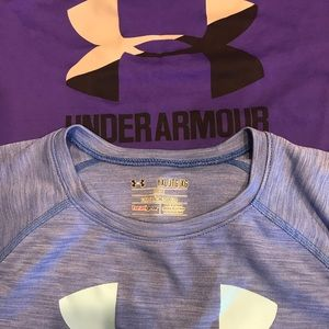 2 Under Armour T-shirts